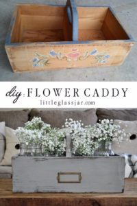 33 DIY Wooden Flower Caddy with Pretty Designs and Perfect Partition Attached with a Sturdy Hold ...