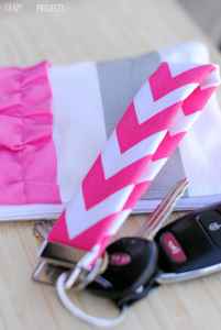 Easy Sewing Projects for Beginners: Key Fob & Zipper Pouch Tutorials
