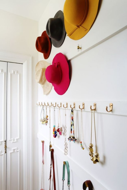 6 Extremely Simple Hook Organize for Closet Stuff with the Perfect Open Display