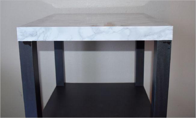 28 IKEA Small Kitchen Island with One Wide UndertheCounter Storage Shelf