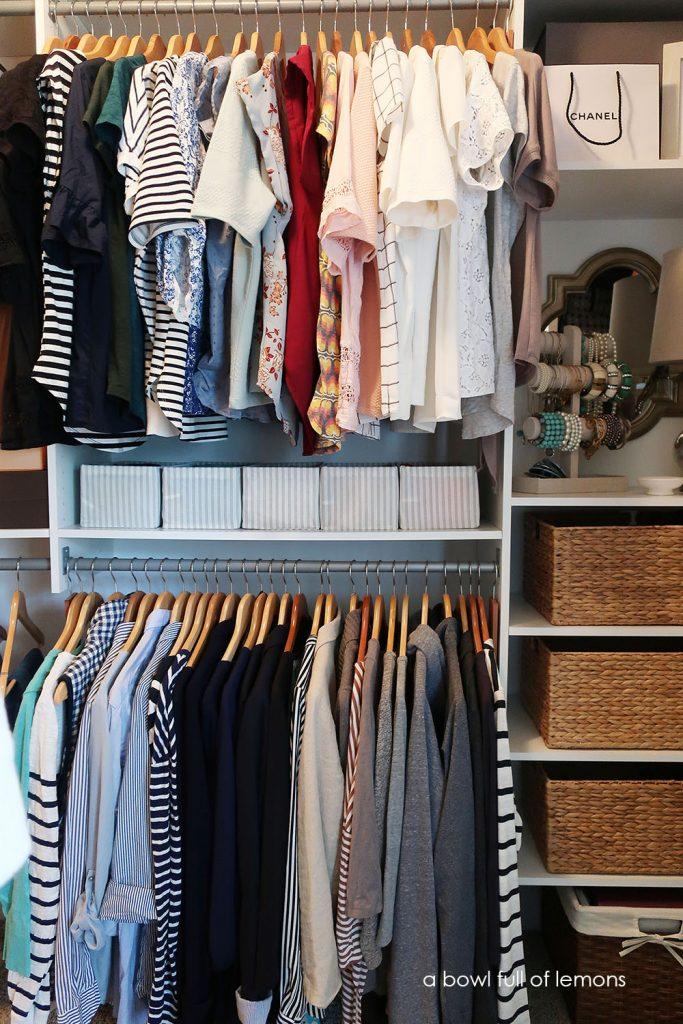Utilize the Maximum Space a Master Room Closet Organization Challenge