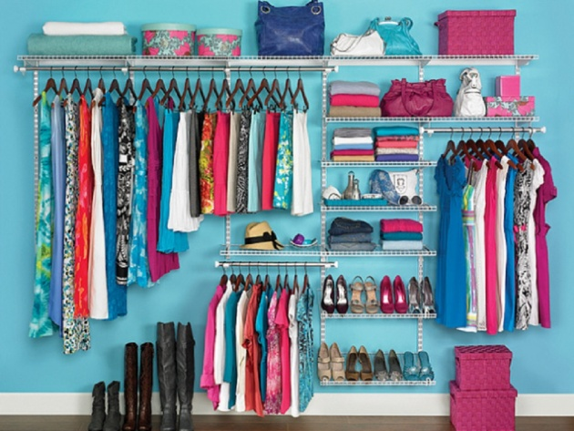 19 Open Closet Organization that is Designed with Basic Tenet to Make the Process Easier