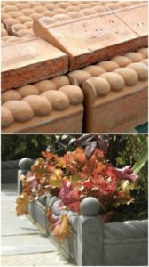 39 ProLike DIY Garden Edging with Readymade Terracotta Landscaping Edging Tiles