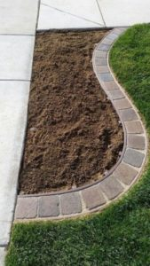 29 Simple yet Professional Garden Edging with Stone Brick Corner Edge