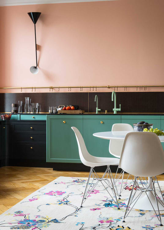 33 Small Kitchen Design with Traditional Faucet Finishes amalgamates with Foregoing Upper Cabine ...