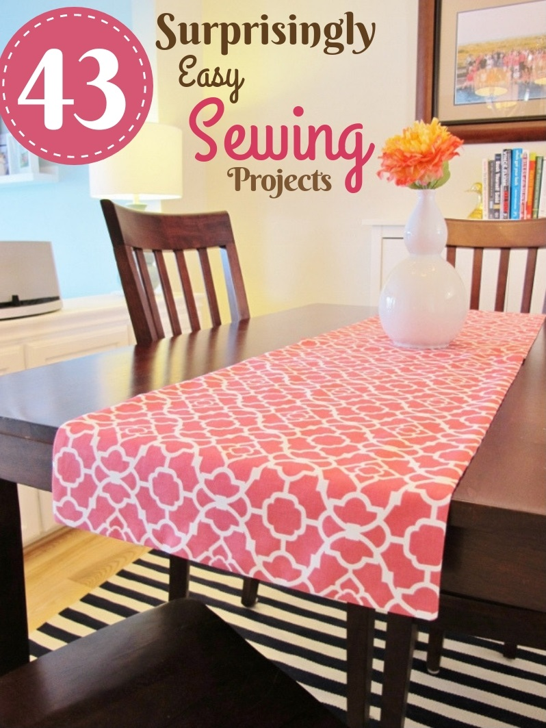 Surprisingly Easy to Make Sewing Projects – Table Runner Cloth