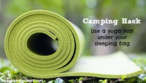 10 Yoga Mat Dcor with Sleeping Bag for a Perfect Camping