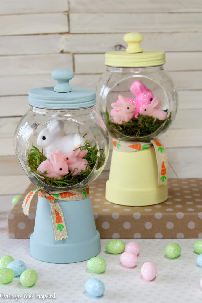 DIY Spring Bunny Gumball Machine Craft for a Perfect Easter Celebration