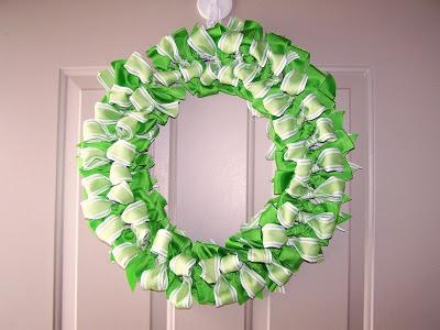 DIY Ribbon Wreath Tutorial by BabsMadeIt