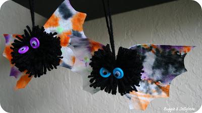 Coffee Filter Spooky Owl Wings for Yarn Owls