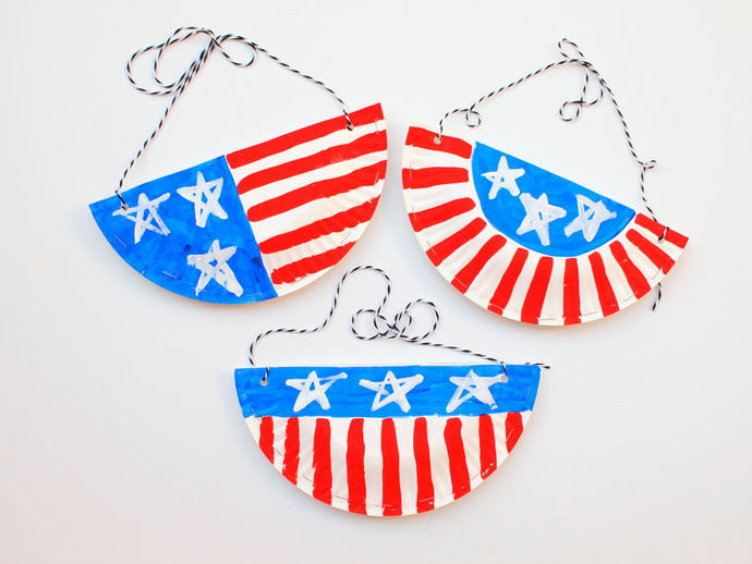 DIY Paper Plate Crafts for 4th of July