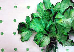 Easy St Patrick's Day Craft: Coffee Filter Shamrock for Kids