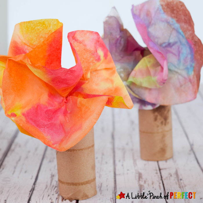 DIY Fall Tree: Easy & Wonderful Coffee Filter Crafts for Kids