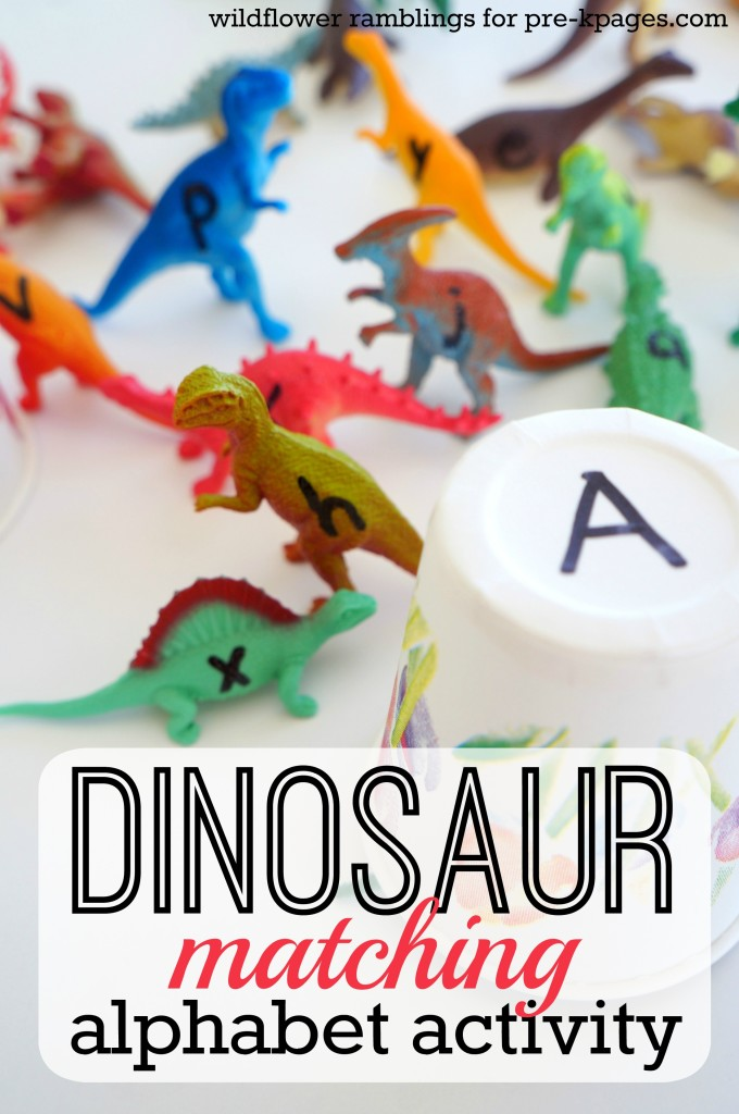 Dinosaur Alphabet Matching Game Idea: A Smart Dino Activity