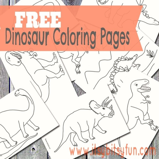 Dinosaur Coloring Pages for Kids | Coloring Town | Dinosaur ... | 652x652