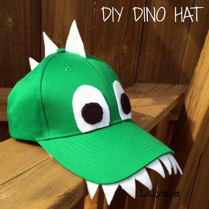 Diy Super Cool Dino Hat For Boys Truly Hand Picked