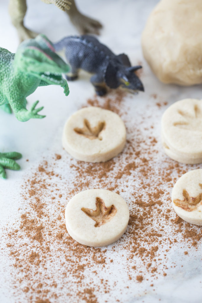 Homemade Dinosaur Footprint Cookies: A Perfect Pick for Dino Themed Party