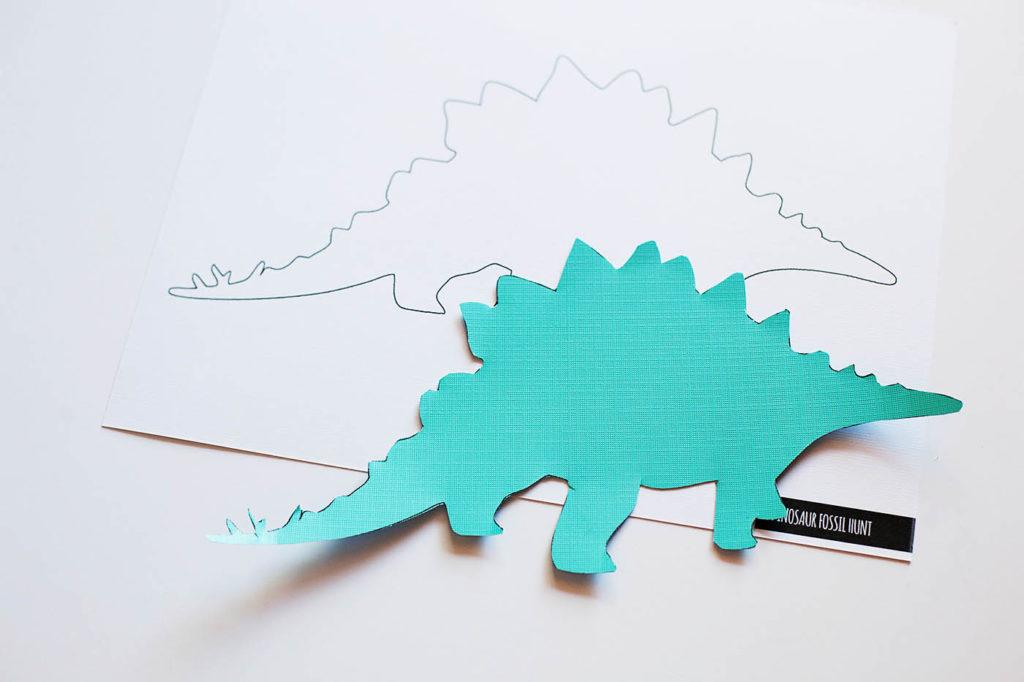 Dinosaur Fossil Hunt: DIY Printable Craft for Kids