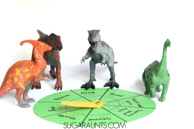 Smart Dinosaur Activity Idea: Gross Motor Movement Game