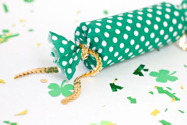 Dollar Store Confetti Craft: DIY Lucky Poppers