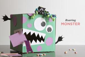 DIY Valentine's Day Box Ideas – Roaring Monster