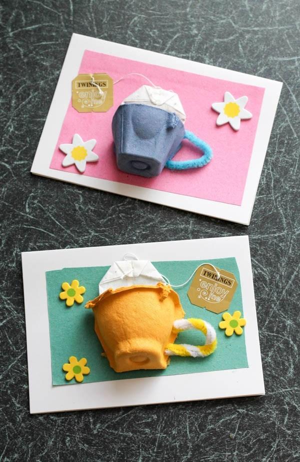 DIY 3D Card Craft Idea: Twining and Tea Cup Card Project