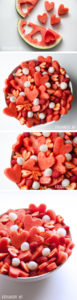 Valentines Day Las Minute Food Ideas: Fruits