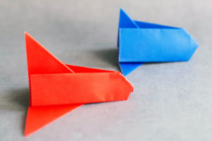 Origami Space Shuttle DIY Craft for Boys
