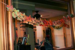 DIY Coffee Filter Fall Leaves Garland Craft Tutorial
