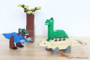 Dinosaur Lego Building structure Game for Kids