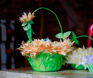 Coffee Filter Flower Basket for The Perfect Easter Preparation