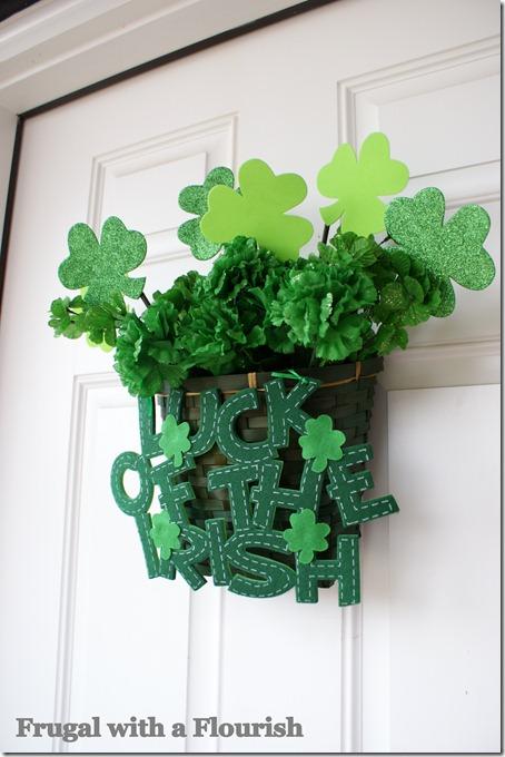 Nature Love: DIY Green Welcome Basket