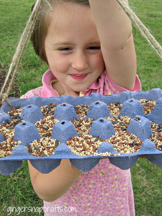 DIY Egg Carton Bird Feeder: A Super Quick Craft Idea for Kids