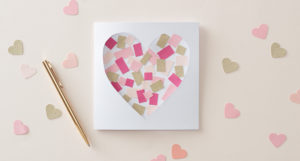 Valentines Day Mosaic Cards – DIY Crafts