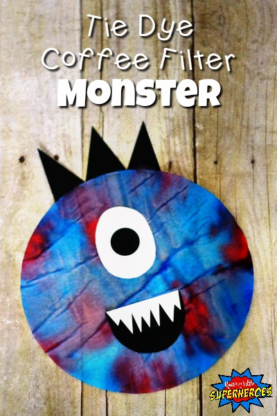 A Complete Tutorial for Coffee Filter Halloween Monster