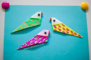 An Easy Tutorial of Origami Bird Magnets