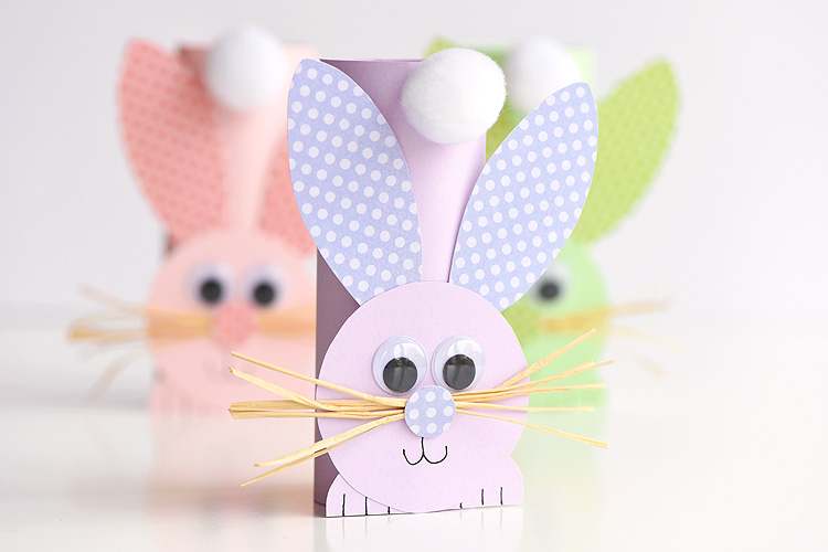 Tutorial to Make Paper Roll Bunnies for Easter Festival