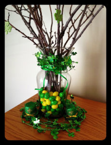 Creative Vase Decor with Pretty Tree Texture