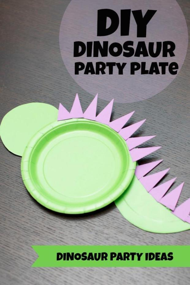 Dinosaur Paper Plate Craft – A DIY Stuff for Dino Themed Party