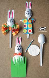 Plastic Spoon Easter Decor Craft: Cheap yet Useful DIY