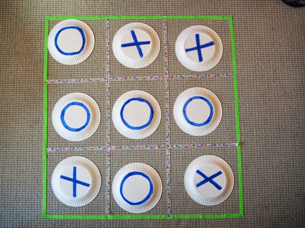DIY Kids Paper Plate Game Craft