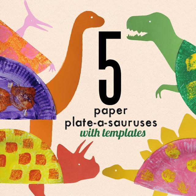 Paper Plate Dinosaur Craft: A Simple DIY Kids Project