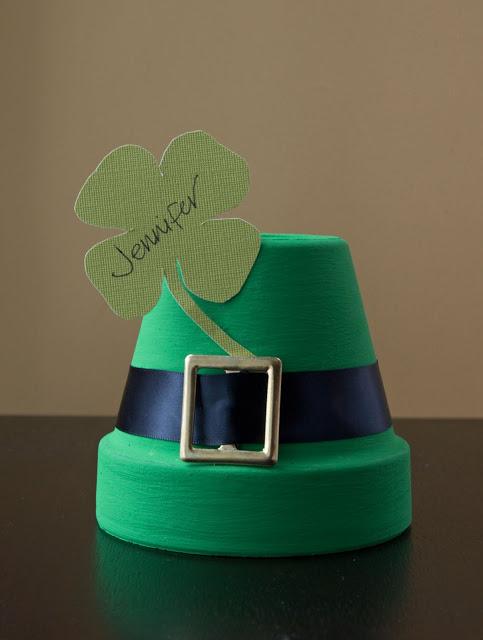 Dollar Store Craft: Wonderful DIY St. Patrick's Day Place Card