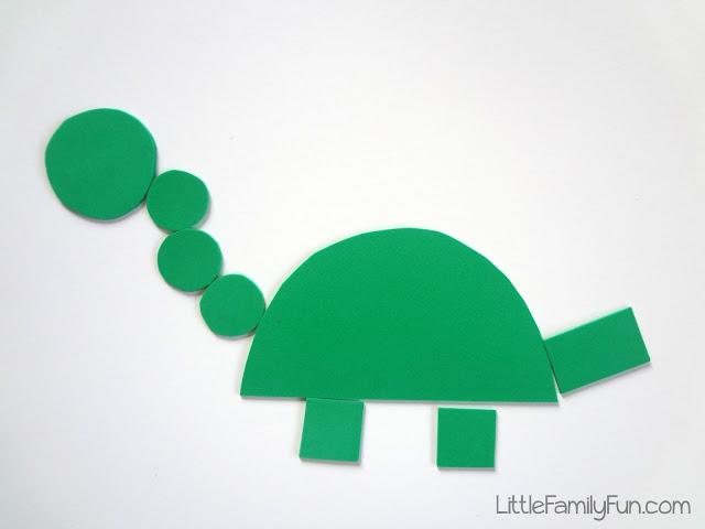 Little Felt Dinosaur Crafting for Kids
