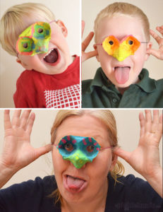 Quick & Easy Egg Carton Mask for Kids