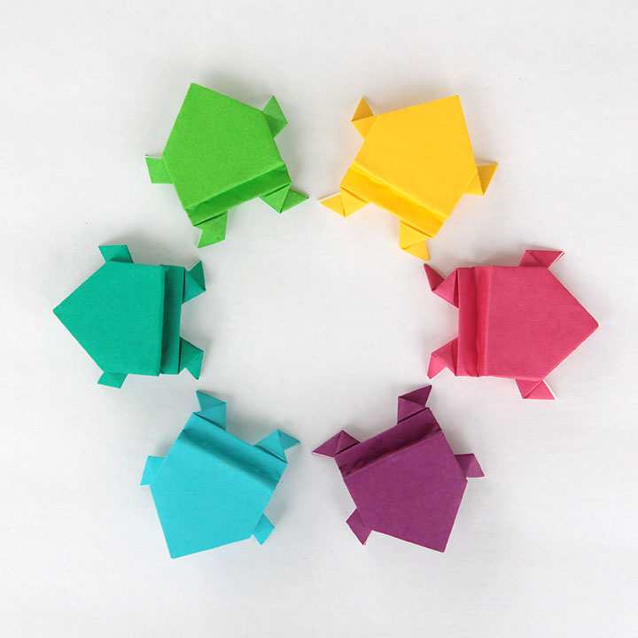 Origami Paper Craft For Kids Diy Shark Cootie Catcher Truly Hand