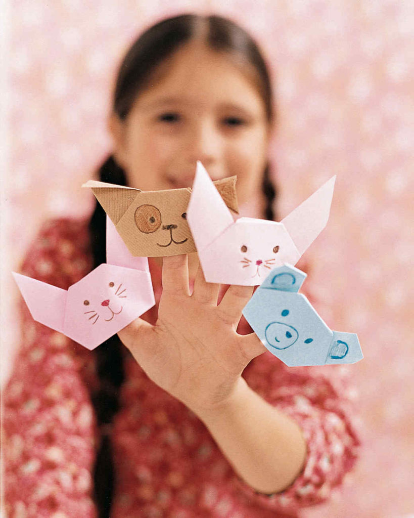 Origami Finger Puppet: A 2-Minute Paper Craft