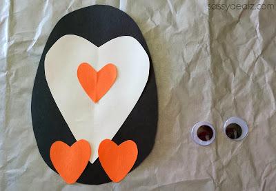 Cute Litte Paper Penguin Project: A Simple Kid's Craft