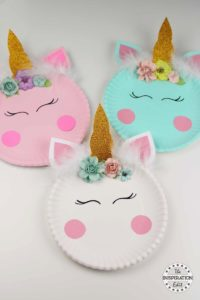Fantasy Crafts for Kids: Paper Plate Crafts An Easy Unicorn Project