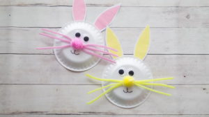 Paper Plate Easter Bunny Craft – Easy to Craft